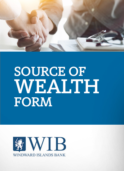 Source of Wealth application form
